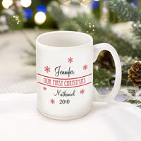 Our First Christmas Mug - Style 1