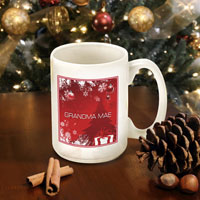 Winter Holiday Coffee Mugs - Red Holiday Surprises (GC771)