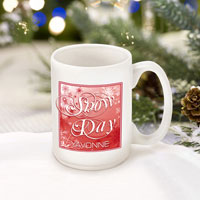 Winter Holiday Coffee Mugs - Red Snowday (GC771)