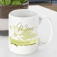 Mother's Day Coffee Mug - Delicate Daisy