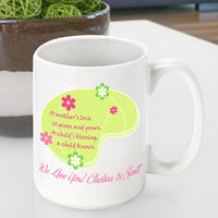 Mother's Day Coffee Mug - Love Grows
