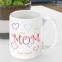 Mother's Day Coffee Mug - Moms Love