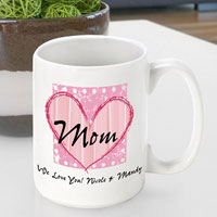 Mother's Day Coffee Mug - Shabby Mom