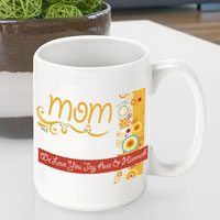 Mother's Day Coffee Mug - Sunshine Flowers