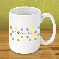 Gleeful Coffee Mug - Dots