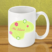 Gleeful Coffee Mug - Green Meadow