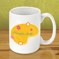 Gleeful Coffee Mug - Orange Meadow