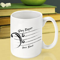 Teacher Coffee Mug - Bass Clef (GC791)