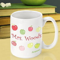 Teacher Coffee Mug - Happy Apples (GC791)