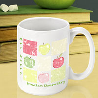 Teacher Coffee Mug - Patchwork (GC791)