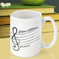 Teacher Coffee Mug - Treble Clef (GC791)