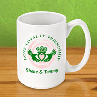 Irish Coffee Mugs - Claddagh