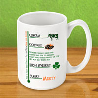 Irish Coffee Mugs - Irish Coffee