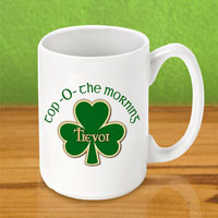 Irish Coffee Mugs - Top Morning