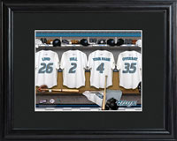 MLB Clubhouse Print w/Wood Frame - Blue Jays