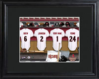MLB Clubhouse Print w/Wood Frame - Diamondbacks
