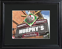 MLB Pub Print w/Wood Frame - Diamondbacks