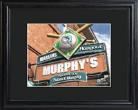 MLB Pub Print w/Wood Frame - Marlins