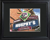 MLB Pub Print w/Wood Frame - Nationals