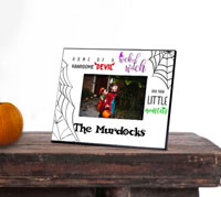 Personalized Halloween Picture Frames - Monsters