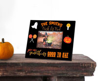 Personalized Halloween Picture Frames - Trick