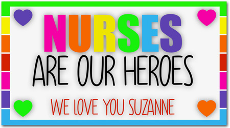 Banners by Namedrops (Nurses Are Our Heroes)