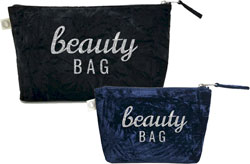 Luxe Bags by Quilted Koala (Velvet Beauty Bag)