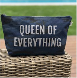 Luxe Bags by Quilted Koala (Makeup Bag - Queen Of Everything)