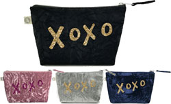 Luxe Bags by Quilted Koala (Velvet XOXO Bag)