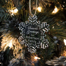 Snowflake Ornaments/Gift Tags by Three Designing Women