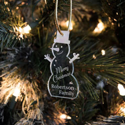 Snowman Ornaments/Gift Tags by Three Designing Women