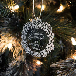 Wreath Ornaments/Gift Tags by Three Designing Women