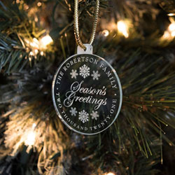 Round Ornaments/Gift Tags by Three Designing Women