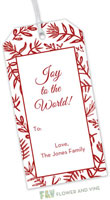 Flower & Vine - Hanging Gift Tags (Merry Flora)