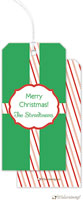 Little Lamb Design - Hanging Gift Tags (Candy Cane - Stipes)