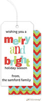 Little Lamb Design - Hanging Gift Tags (Merry and Bright)