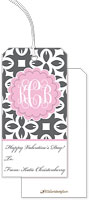 Little Lamb Design - Hanging Gift Tags (Monogram - Valentine's Day)