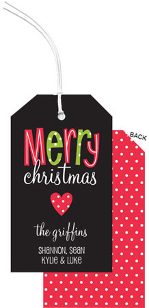 PicMe Prints - Hanging Gift Tags (A Merry Heart) (HTMH4761)