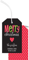 PicMe Prints - Hanging Gift Tags (A Merry Heart)