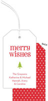 PicMe Prints - Hanging Gift Tags (Merry Wishes)