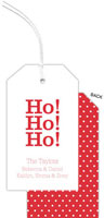 PicMe Prints - Hanging Gift Tags (White Dots Poppy)