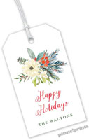 PicMe Prints - Hanging Gift Tags (Holiday Bouquet)