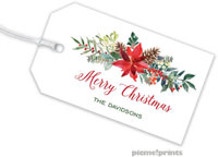 PicMe Prints - Hanging Gift Tags (Christmas Flora)