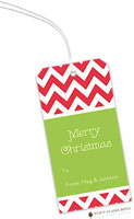 Stacy Claire Boyd - Hanging Gift Tags (Chevron Stripe Holiday)