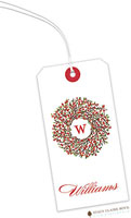 Stacy Claire Boyd - Hanging Gift Tags (Berry Wreath)