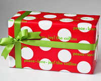 Name Maker Personalized Gift Wrap - Dot To Dot