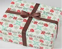 Name Maker Personalized Gift Wrap - Very Vintage