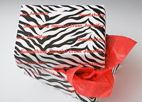 Name Maker Personalized Gift Wrap - Zebra Stripe