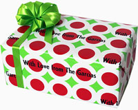 Name Maker Personalized Gift Wrap - Merry Go Round