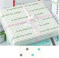 Name Maker Personalized Gift Wrap - Create-Your-Own Polka Dot